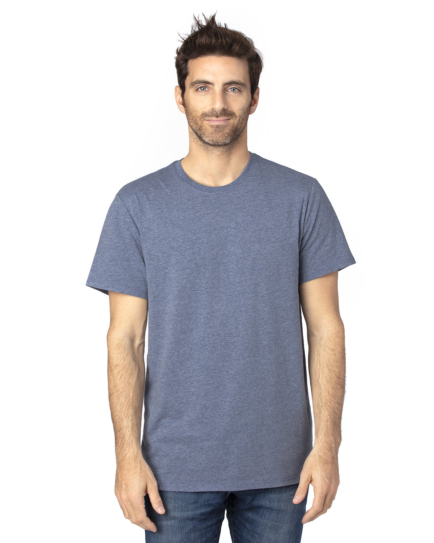 Threadfast Unisex Ultimate T-Shirt NAVY HEATHER