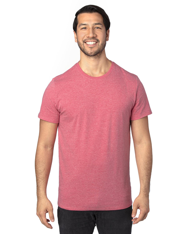 Threadfast Unisex Ultimate T-Shirt RED HEATHER