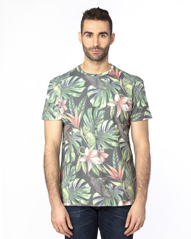 Threadfast Unisex Ultimate T-Shirt TROPICAL JUNGLE