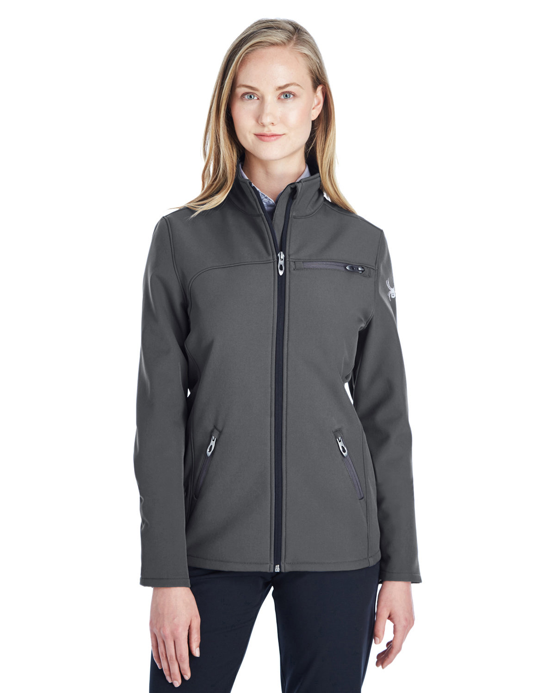 Spyder Ladies' Transport Soft Shell Jacket POLAR / WHITE