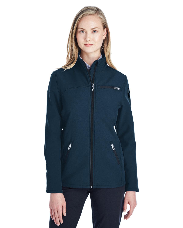 Spyder Ladies' Transport Soft Shell Jacket FRONTIER/ BLACK