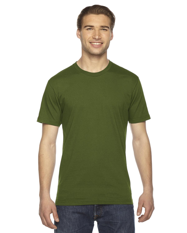 American Apparel Unisex Fine Jersey Short-Sleeve T-Shirt OLIVE