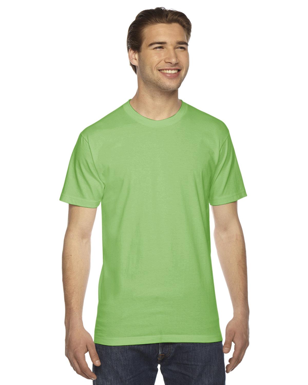 American Apparel Unisex Fine Jersey Short-Sleeve T-Shirt GRASS