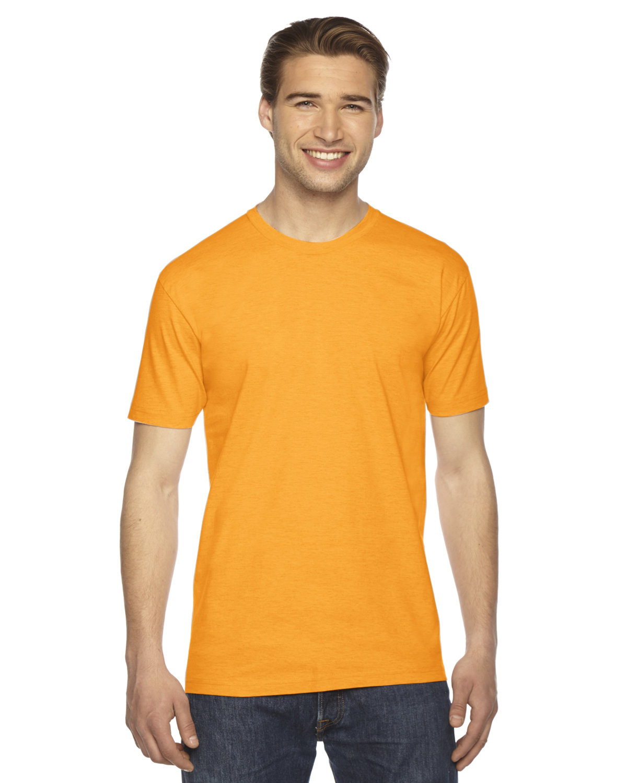 American Apparel Unisex Fine Jersey Short-Sleeve T-Shirt GOLD