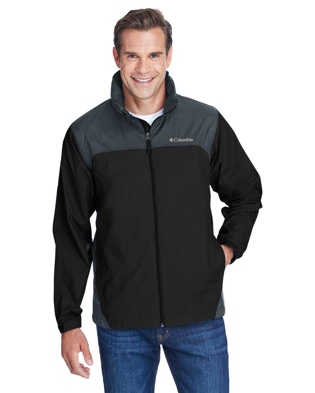 Columbia Men's Glennaker Lake™ Rain Jacket BLACK/ GRILL