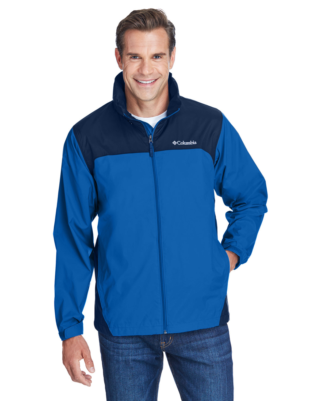 Columbia Men's Glennaker Lake™ Rain Jacket BLUE JAY/ NAVY