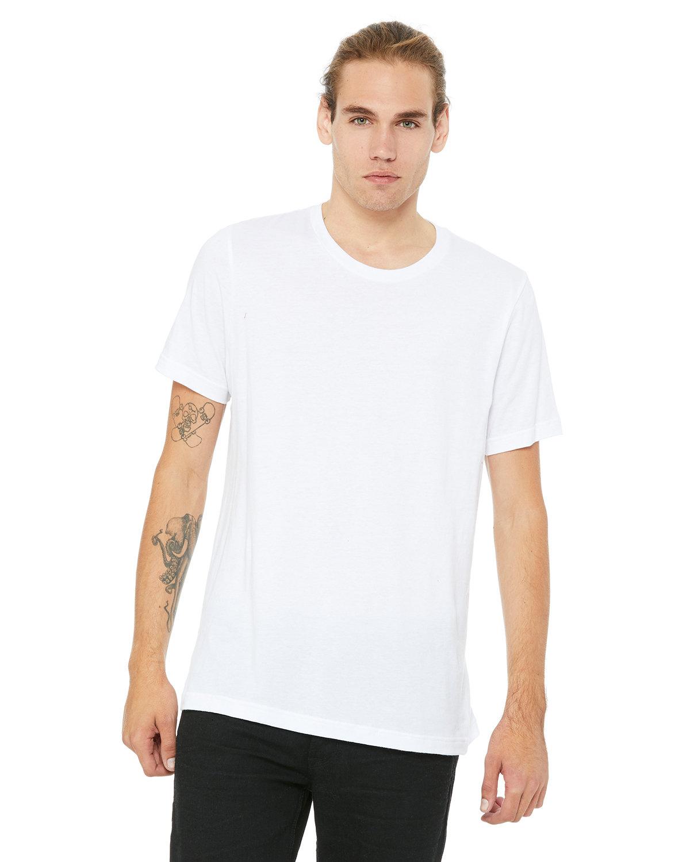 Bella + Canvas Unisex Jersey T-Shirt WHITE