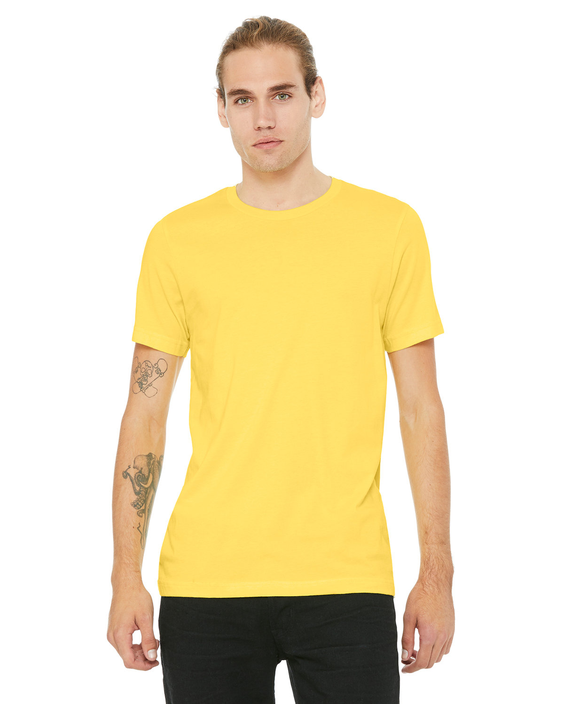 Bella + Canvas Unisex Jersey T-Shirt YELLOW