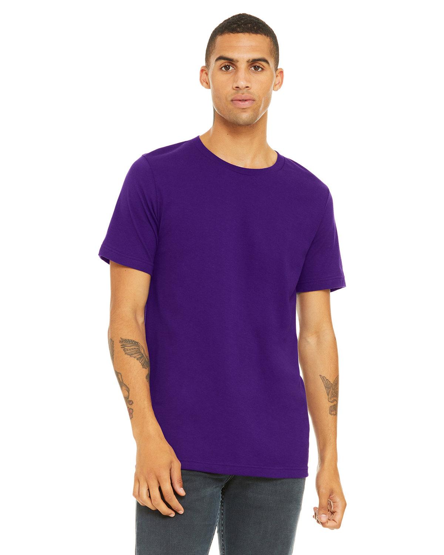Bella + Canvas Unisex Jersey T-Shirt TEAM PURPLE