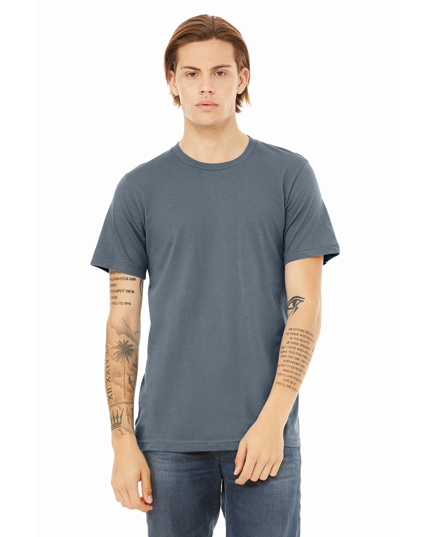 Bella + Canvas Unisex Jersey T-Shirt STEEL BLUE