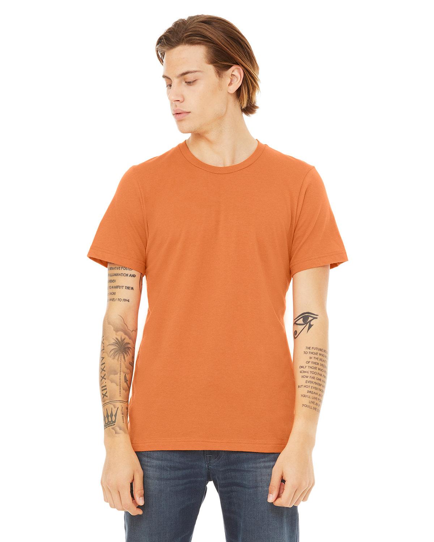 Bella + Canvas Unisex Jersey T-Shirt BURNT ORANGE