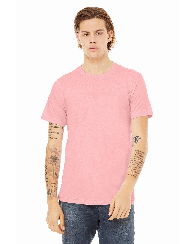 Bella + Canvas Unisex Jersey T-Shirt PINK