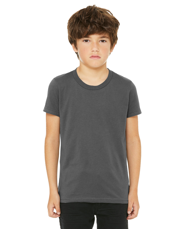Bella + Canvas Youth Jersey T-Shirt ASPHALT