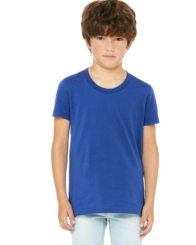 Bella + Canvas Youth Jersey T-Shirt TRUE ROYAL