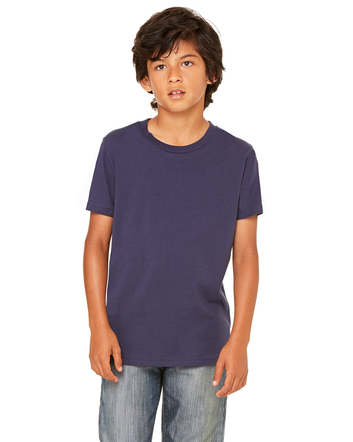 Bella + Canvas Youth Jersey T-Shirt NAVY