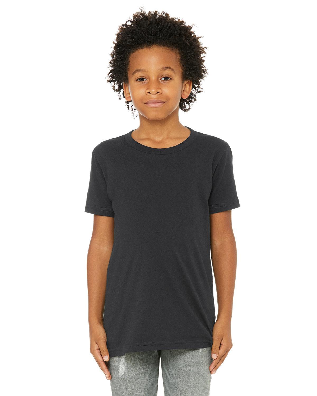 Bella + Canvas Youth Jersey T-Shirt DARK GREY