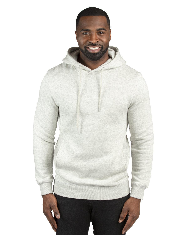 Threadfast Unisex Ultimate Fleece Pullover Hooded Sweatshirt OATMEAL HEATHER