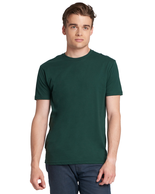 Next Level Unisex Cotton T-Shirt FOREST GREEN