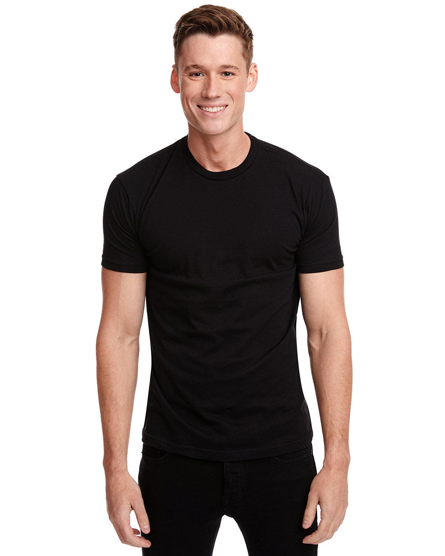 Next Level Unisex Cotton T-Shirt BLACK