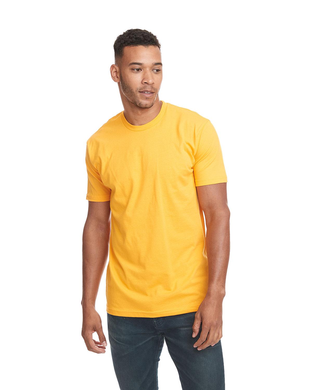 Next Level Unisex Cotton T-Shirt GOLD