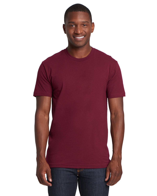 Next Level Unisex Cotton T-Shirt MAROON