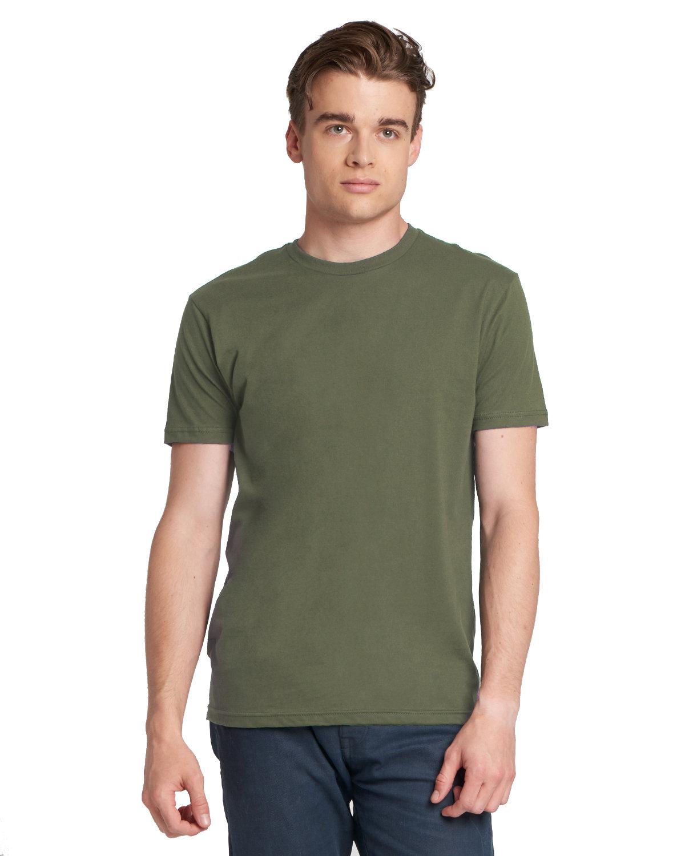 Next Level Unisex Cotton T-Shirt MILITARY GREEN