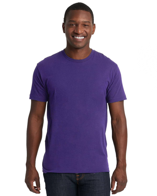 Next Level Unisex Cotton T-Shirt PURPLE RUSH