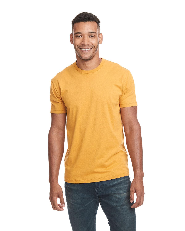 Next Level Unisex Cotton T-Shirt ANTIQUE GOLD