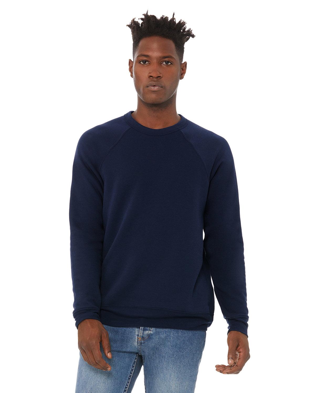 Bella + Canvas Unisex Sponge Fleece Crewneck Sweatshirt NAVY