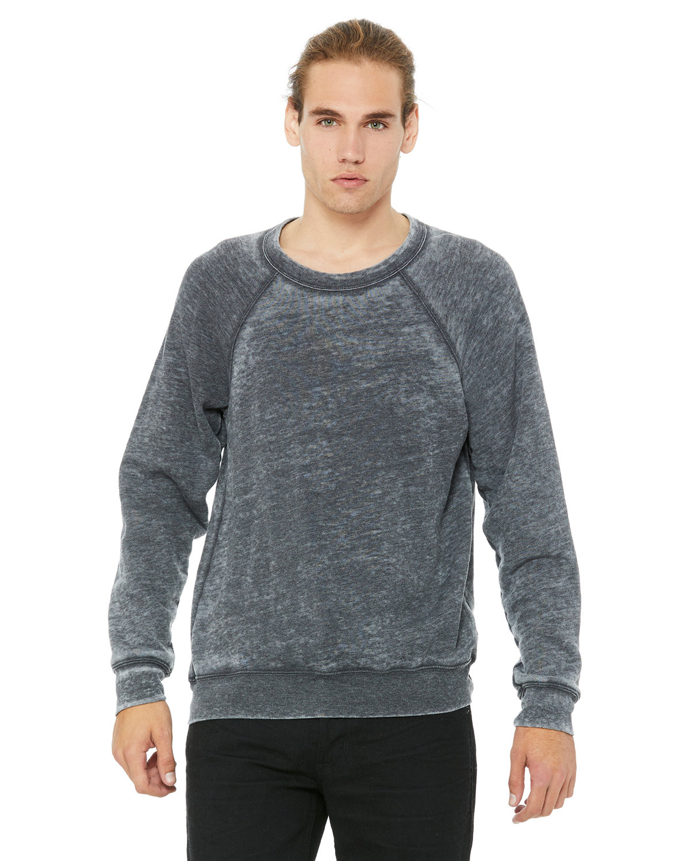 Bella + Canvas Unisex Sponge Fleece Crewneck Sweatshirt GREY ACID FLEECE