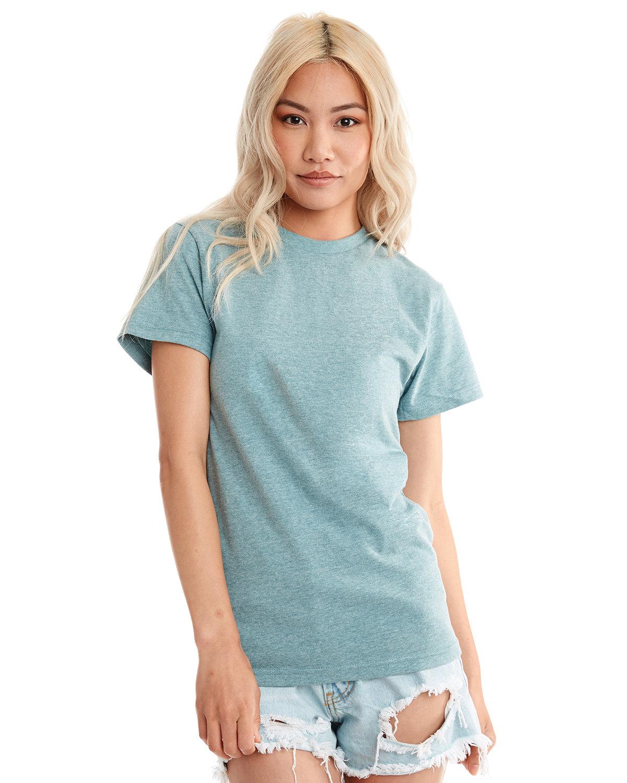 Next Level Unisex Eco Heavyweight T-Shirt HEATHER PACIFIC