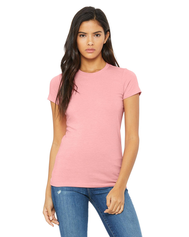 Bella + Canvas Ladies' Slim Fit T-Shirt PINK