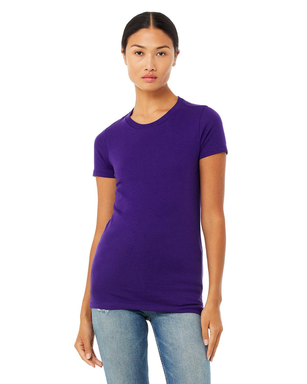 Bella + Canvas Ladies' Slim Fit T-Shirt TEAM PURPLE