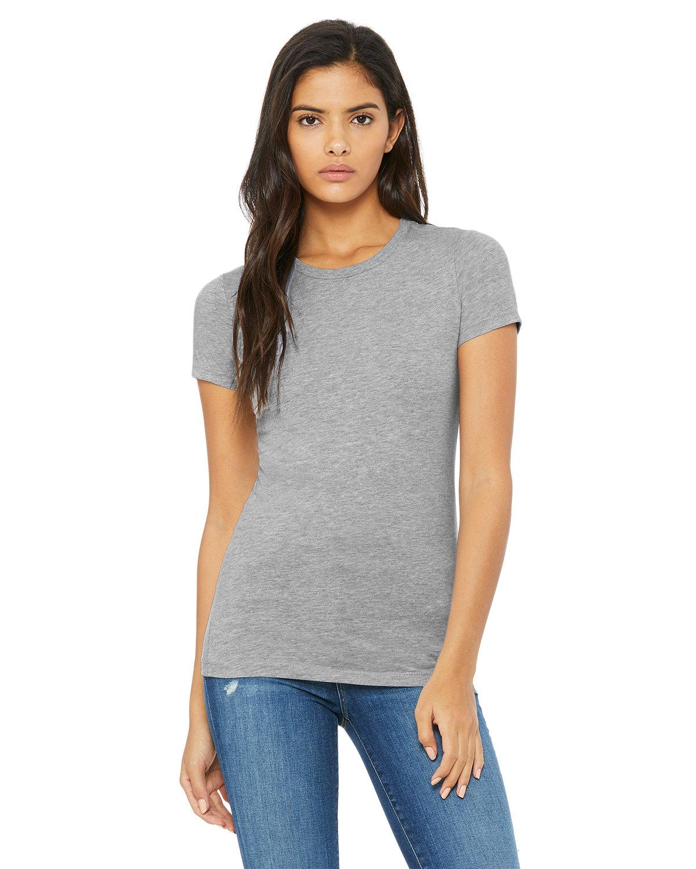 Bella + Canvas Ladies' Slim Fit T-Shirt ATHLETIC HEATHER