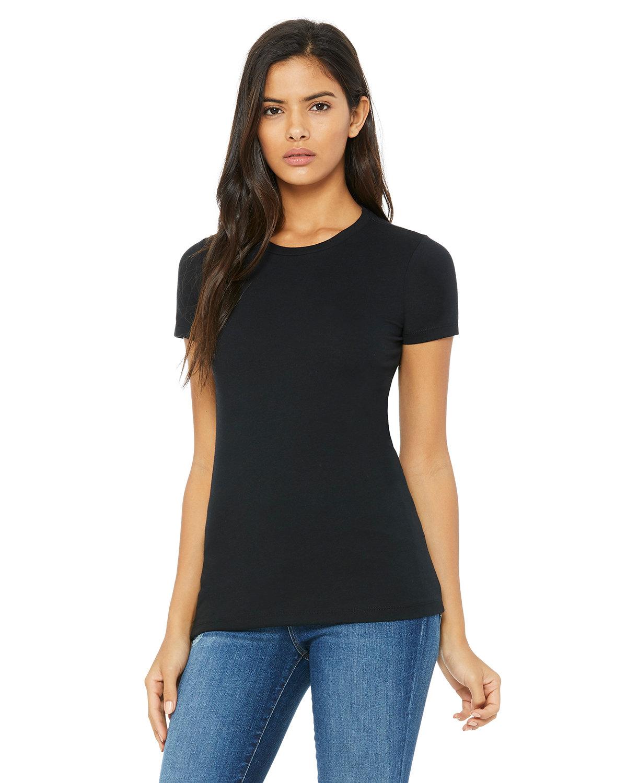 Bella + Canvas Ladies' Slim Fit T-Shirt BLACK
