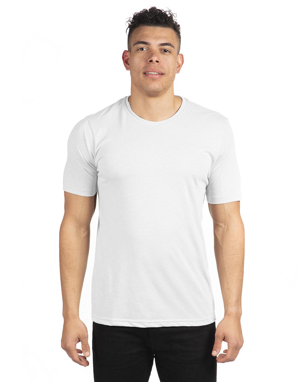 Next Level Unisex Poly/Cotton Crew WHITE