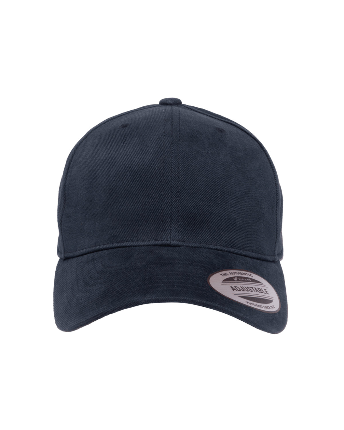 Yupoong Adult Brushed Cotton Twill Mid-Profile Cap NAVY
