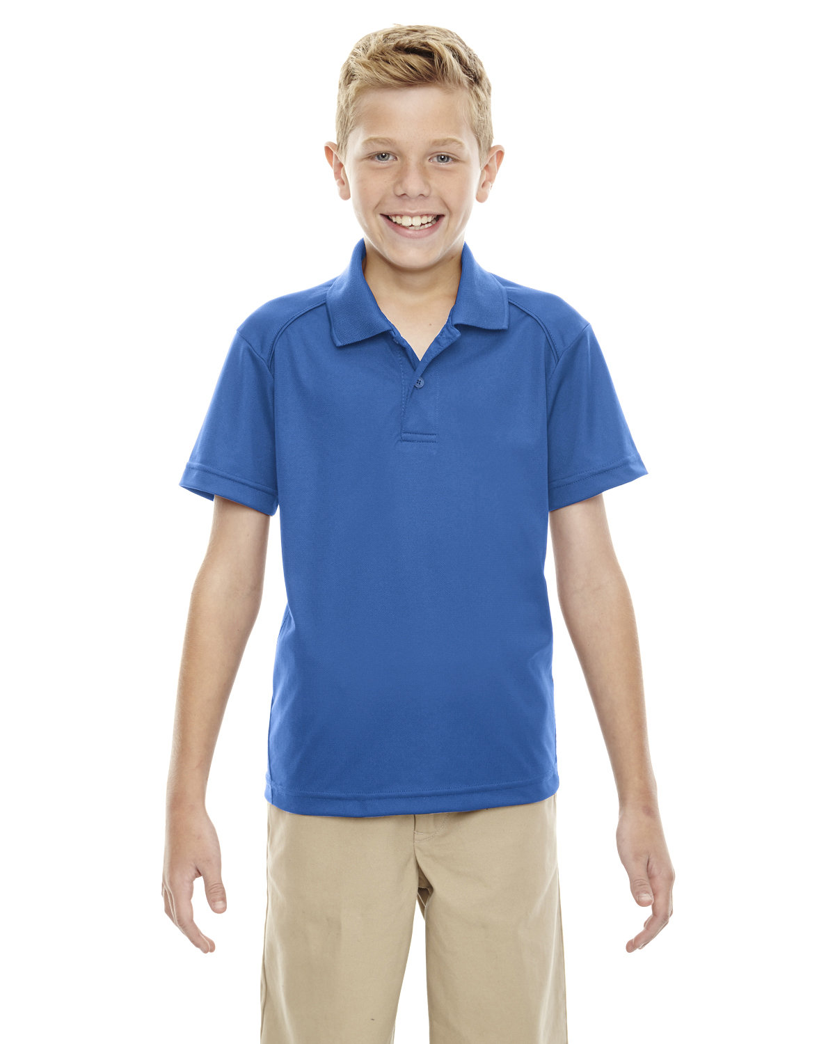 Extreme Youth Eperformance™ Shield Snag Protection Short-Sleeve Polo TRUE ROYAL