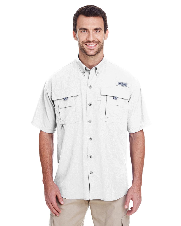 Columbia Men's Bahama™ II Short-Sleeve Shirt WHITE