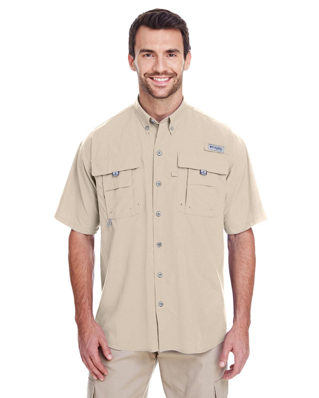 Columbia Men's Bahama™ II Short-Sleeve Shirt FOSSIL