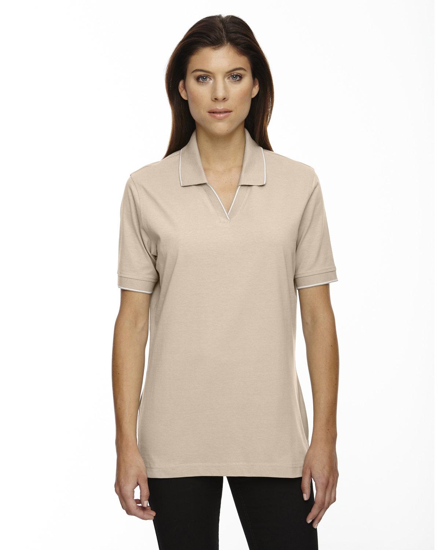 Extreme Ladies' Cotton Jersey Polo SAND