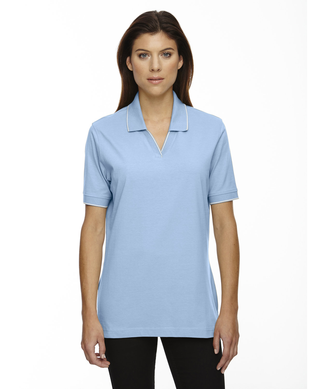 Extreme Ladies' Cotton Jersey Polo POWDER BLUE