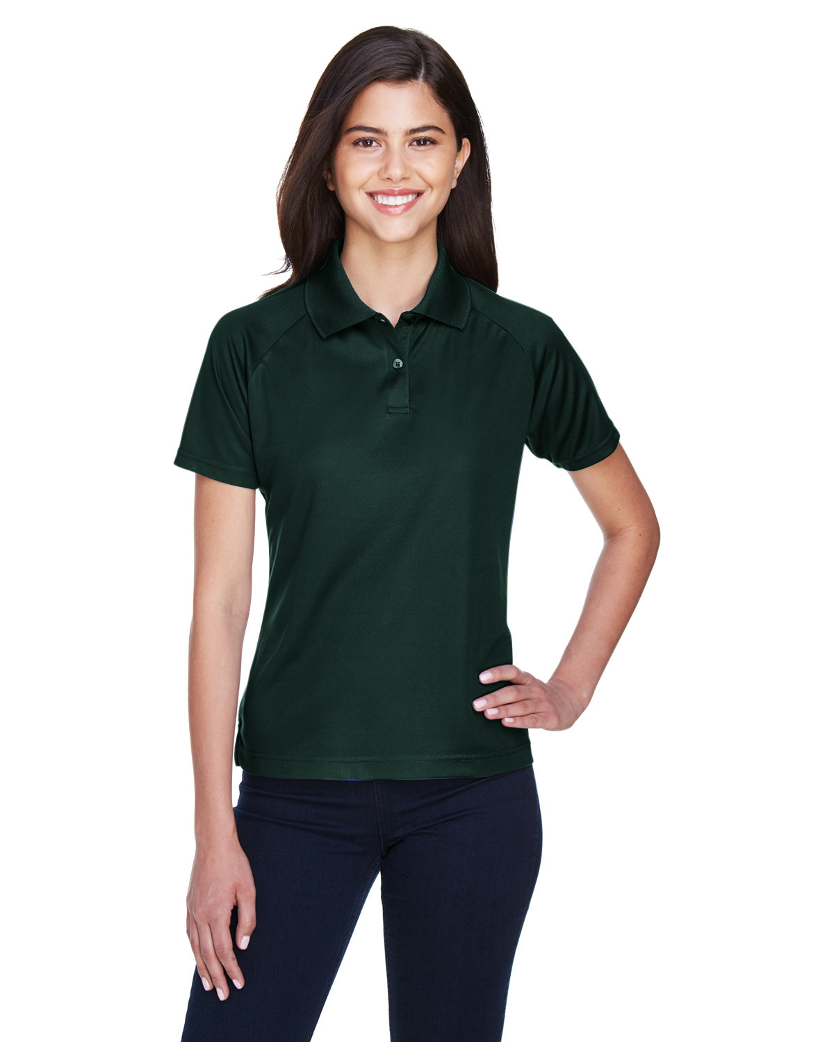Extreme Ladies' Eperformance™ Piqué Polo FOREST