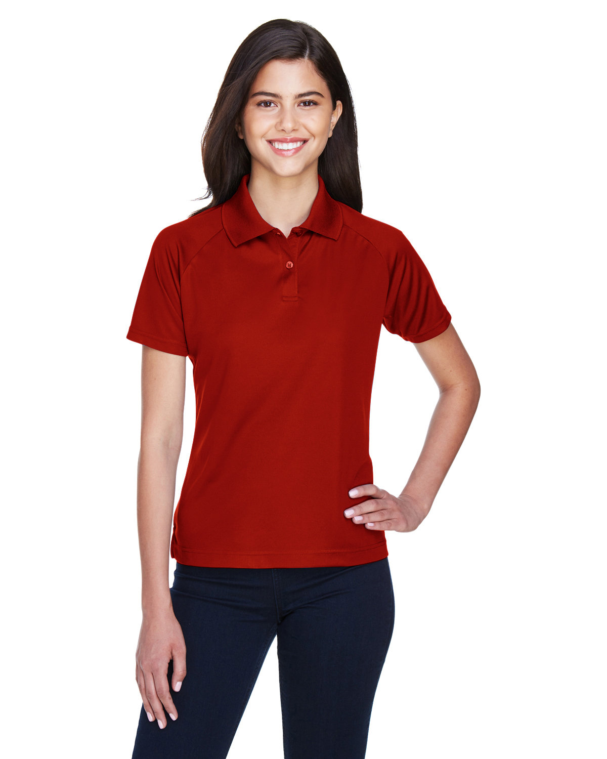 Extreme Ladies' Eperformance™ Piqué Polo CLASSIC RED