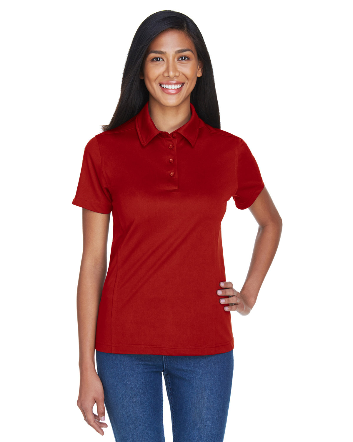 Extreme Ladies' Eperformance™ Shift Snag Protection Plus Polo CLASSIC RED
