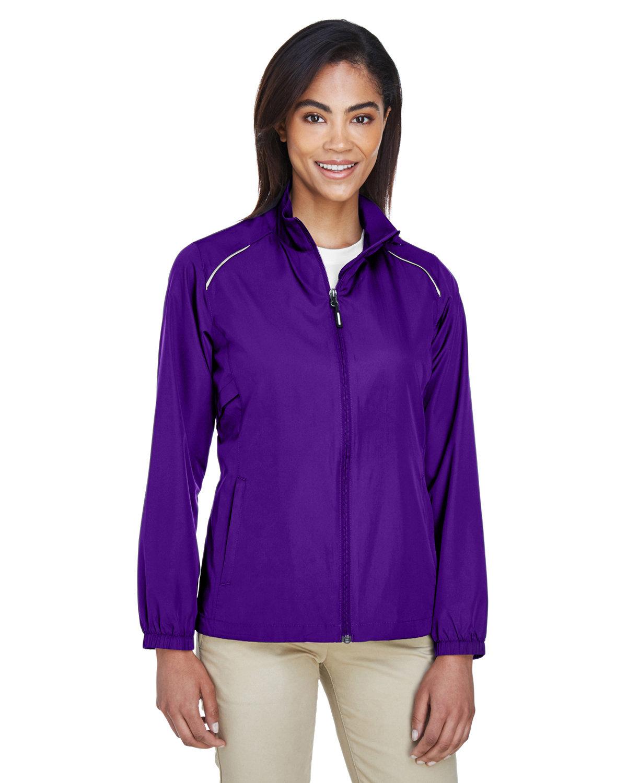 Core 365 Ladies' Motivate Unlined Lightweight Jacket CAMPUS PURPLE