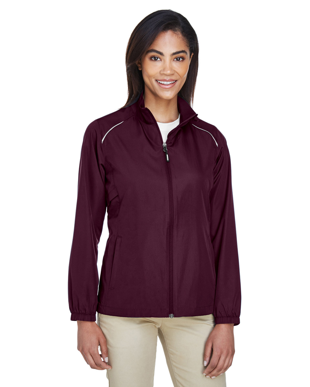 Core 365 Ladies' Motivate Unlined Lightweight Jacket BURGUNDY
