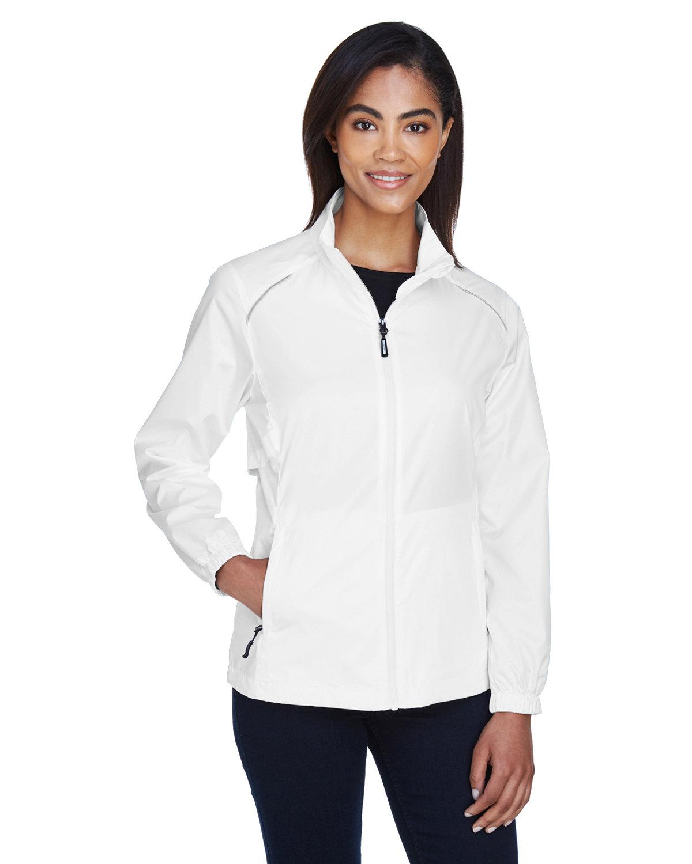Core 365 Ladies' Motivate Unlined Lightweight Jacket WHITE