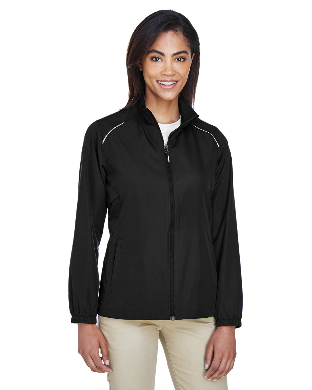 Core 365 Ladies' Motivate Unlined Lightweight Jacket BLACK