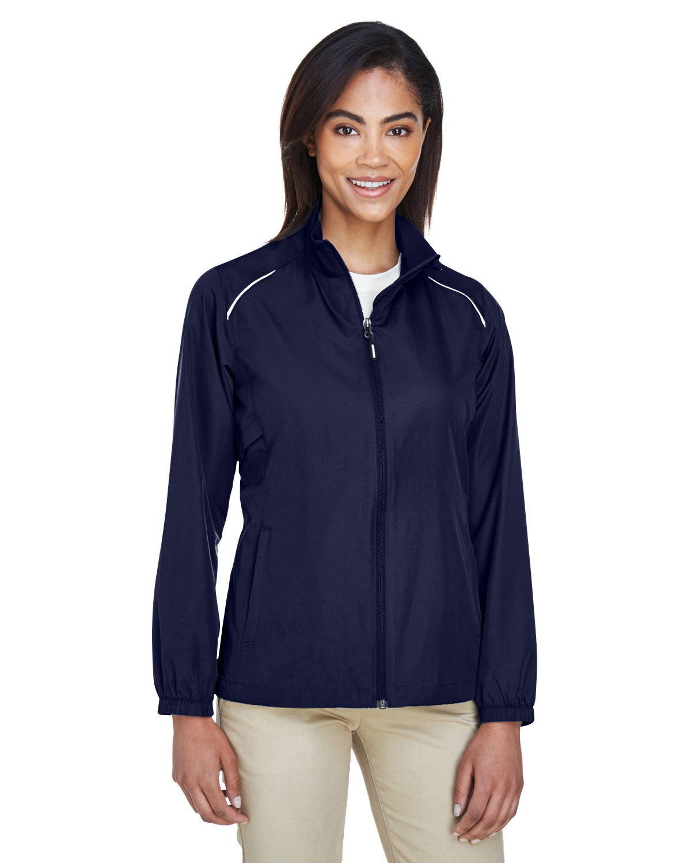 Core 365 Ladies' Motivate Unlined Lightweight Jacket CLASSIC NAVY